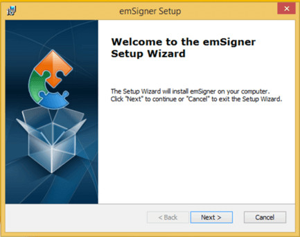 starting docsigner installation